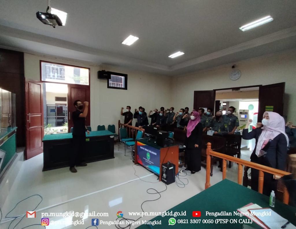 Rapat Bulanan Pengadilan Negeri Mungkid