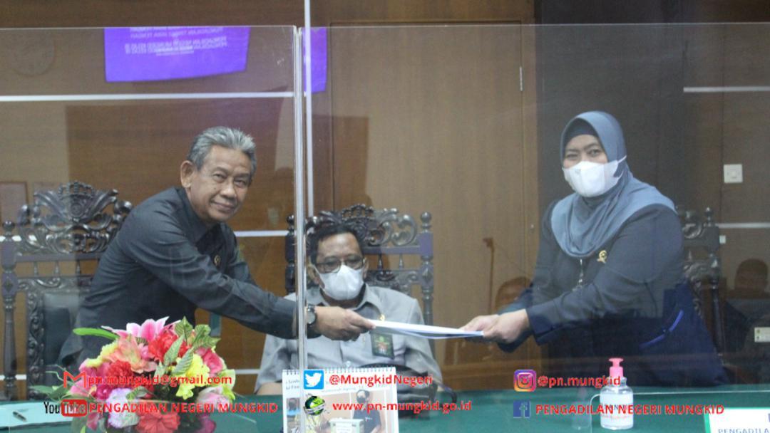 Pengawasan dari Hakim Tinggi Pengawas Daerah Pengadilan Tinggi Jawa Tengah